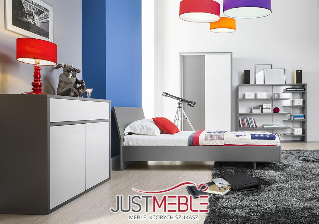 sypialnia młodzieżowa ZELDA MX JustMeble - Nowoczesne meble sypialniane, pokojowe, dziecięce ...
